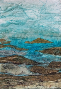 Sea Rocks Sky - sold